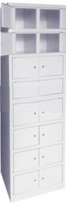 Металлический сварной шкаф ШР 216/600